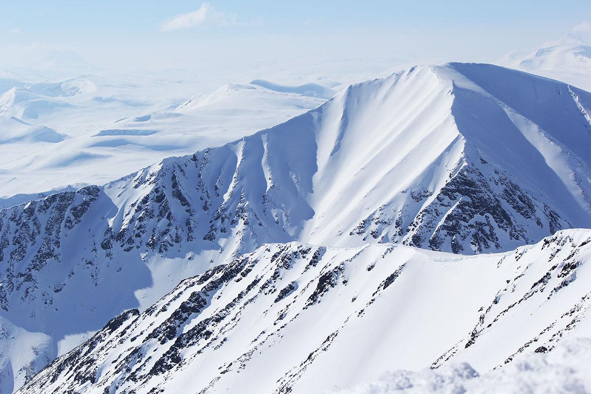 Stor skidåkning i Kvikkjokk
