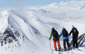 Heliskiiing i Lappland